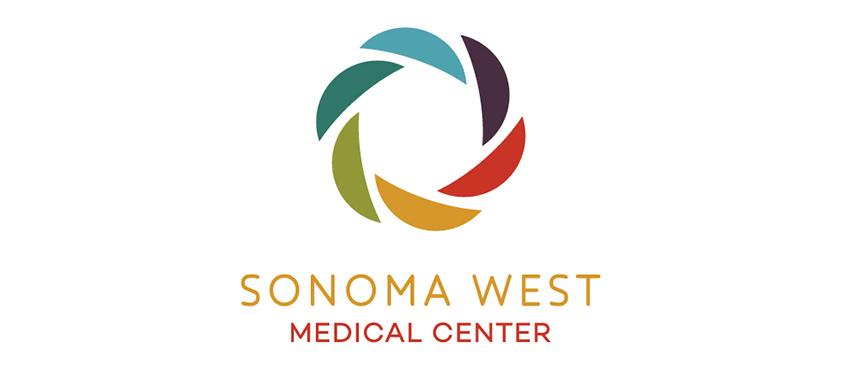 Sonoma West Medical Center branding developed by Abra Marketing.