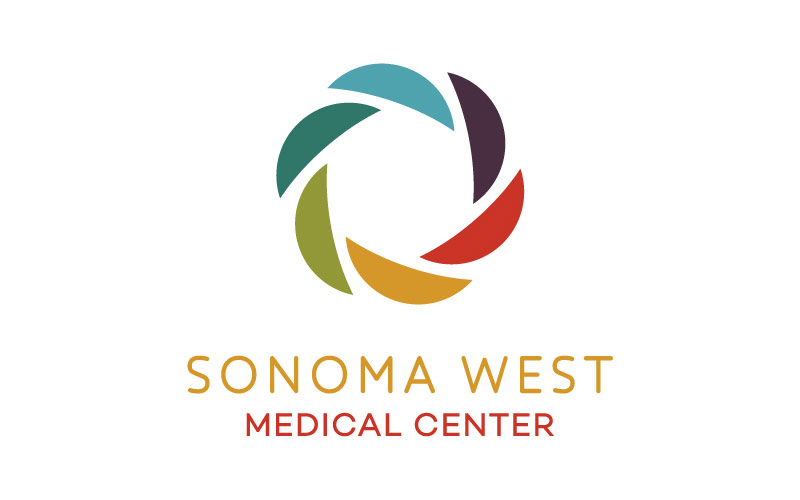 Abra healthcare marketing examples showing logo for Sonoma West Medical Center.