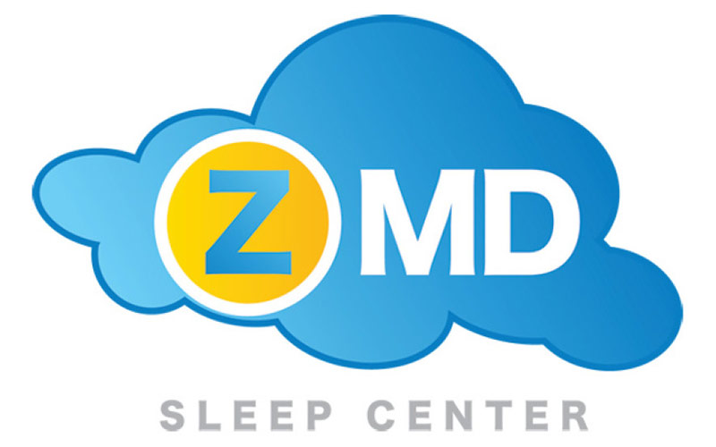 Abra healthcare marketing examples showing logo for Z MD Sleep Center.